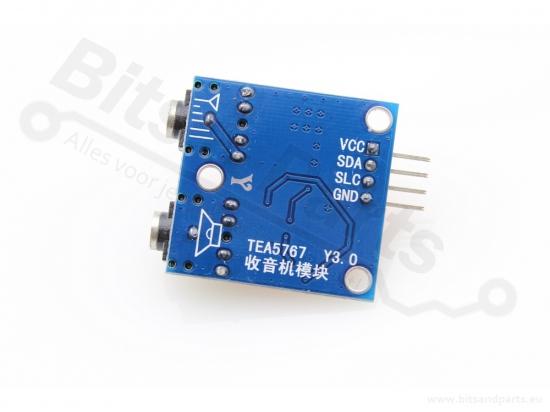 FM radio-ontvanger TEA5767 I2C voor oa. Arduino