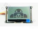 Display LCD 128x64 I2C zwart op wit