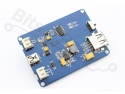 Oplader voor LiIon/LiPoly batterijen/accu's Solar/USB