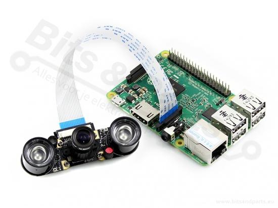 Raspberry Pi Camera 5MP - Infrarood / Night vision