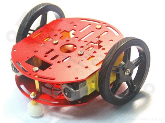 Smart Car Chassis 2WD met 2 motors FT-DC-002