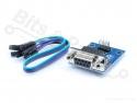 Converter Serieel TTL MAX3232 RS232 DB9