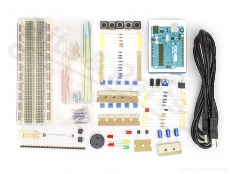 Arduino Workshop base level kit (origineel Arduino) A000010