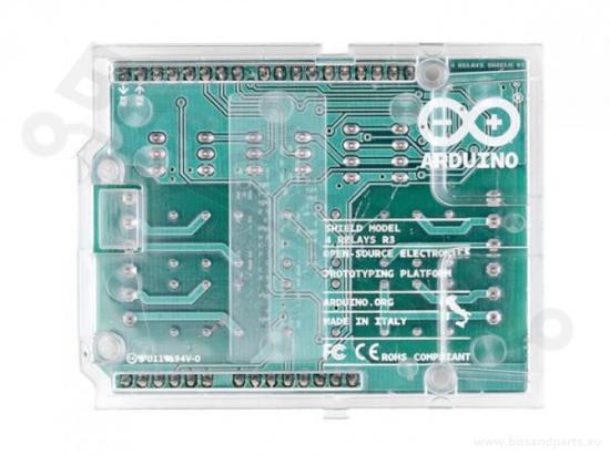 Relais shield 4-voudig (origineel Arduino) A000110
