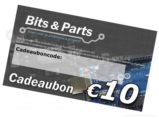 Bits & Parts Cadeaubon 10 Euro