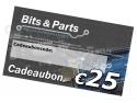 Bits & Parts Cadeaubon 25 Euro