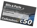 Bits & Parts Cadeaubon 50 Euro