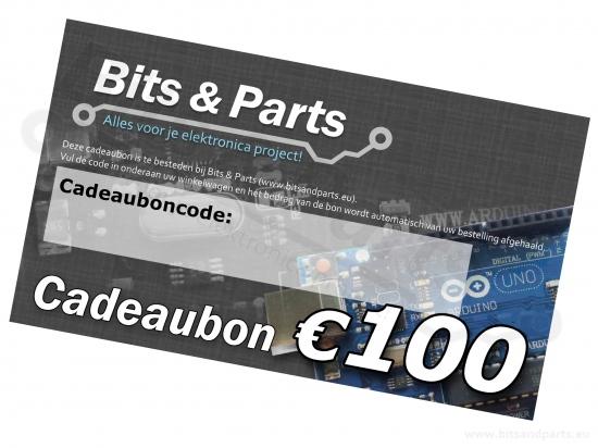 Bits & Parts Cadeaubon 100 Euro